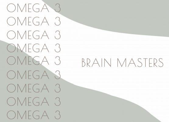 Omega 3 brain masters