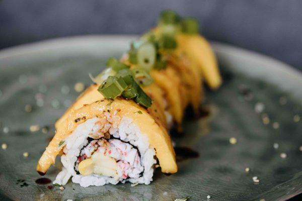 Brain Masters mango sushi